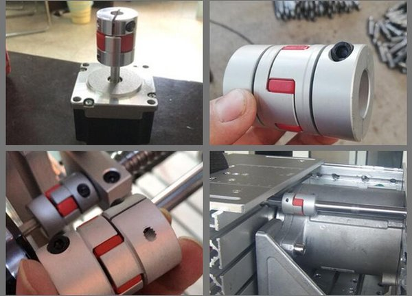 2019 Jaw Spider Plum Shaft Coupler Plum Coupling Connector D=25mm L=35mm  Inner Hole 4 To 12 Mm Plum Shaped Flexible Coupling From Sharegood, &Price