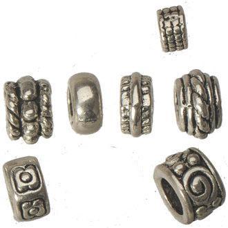 Tipo misturado pandora loose beads diy charme europeu pulseiras retro prata grande buraco liga nova jóia da moda resultados componentes 350 pcs