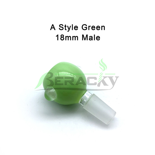 A- 18mm Male Green
