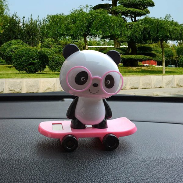 Really Adorable Solar Powered Dancing Panda Bobble Toys