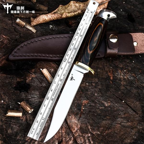 Voltron alta dureza ao ar livre camping survival tactical faca reta, sobrevivência faca de sobrevivência, faca portátil