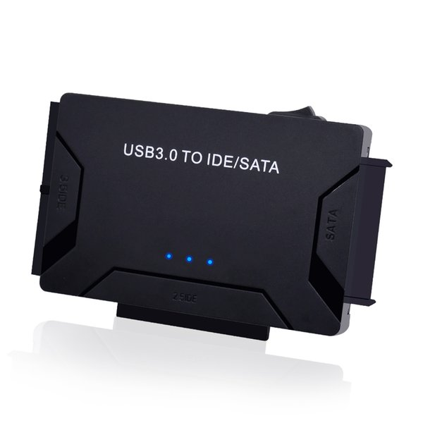 """CHIPAL 3 in 1 SATA to USB IDE Adapter USB 3.0 to SATA IDE ATA Data Converter for 2.5"""" 3.5"""" HDD Hard Disk Driver With Power Cable"""
