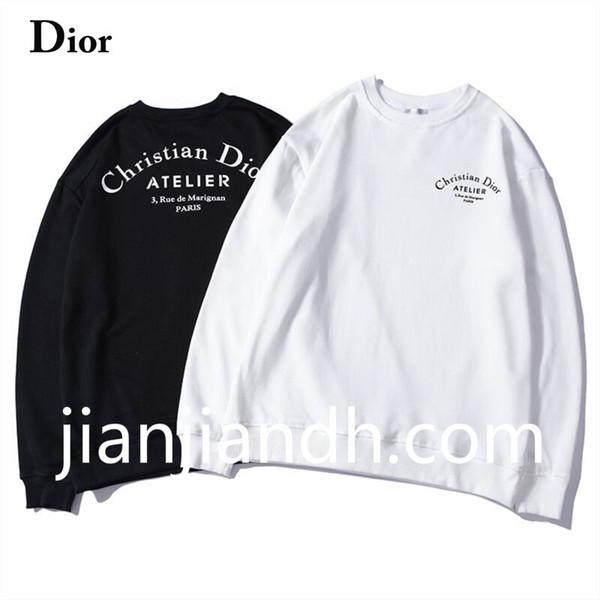 Original 2019 moda tendência carta impressão em torno do pescoço camisola dos homens outono high-end personalidade jaqueta casual dos homens 720 5521 #