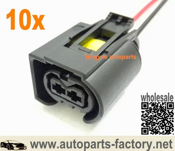 Longyue 10 pcs Genuíno Diesel Injector Conector Plug para Mercedes Bosch Common Rail 12