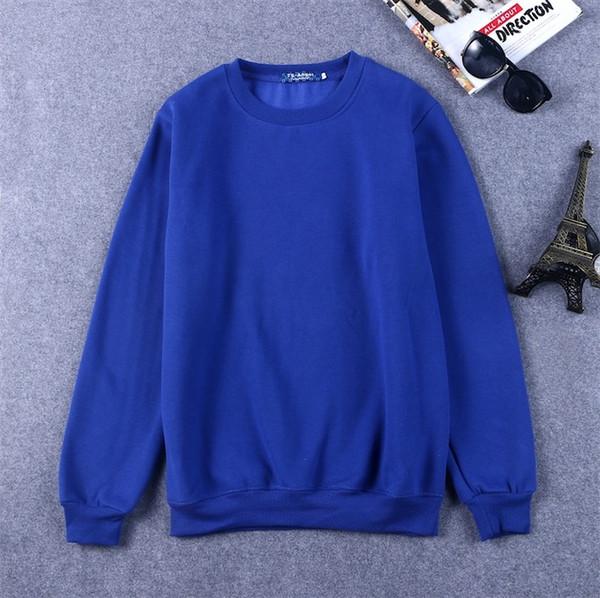 파란색 스웨터