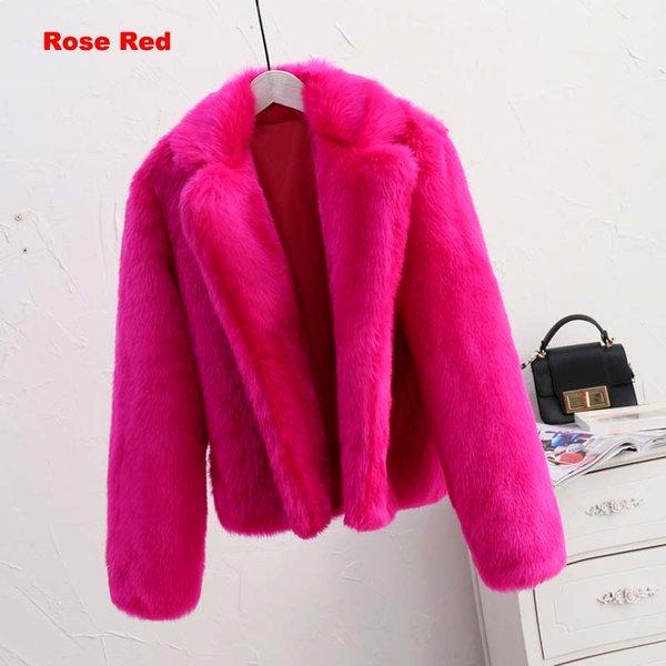 розовая красная шуба