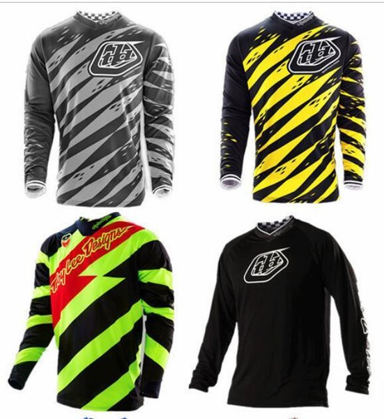 05 Summer TLD downhill clothing long-sleeved T-shirt men and women bicycle breathable clothing off-road motorcycle jersey