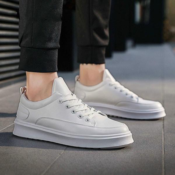 2019 Erkekler S Rahat Ayakkabılar Moda Iyi Eğilim Küçük Beyaz Ayakkabı Vahşi Basit Çift Ayakkabı Rahat Ve Giyilebilir