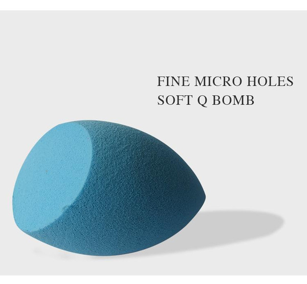 top popular Wholesale Makeup Puff Sponge Foundation Sponge Puff Bottle Gourd OEM Processing Cosmetic Puff Flawless Powder Smooth Makeup Beauty eggs 2021