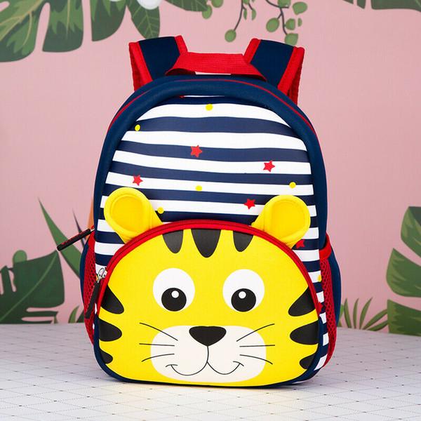 Mochila de jardim de infância de mochila de criança de criança 2019 Bolsa de ombro de viagem de modelo de bebê de menina de menino de bebê nova