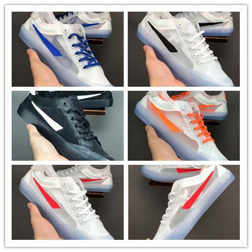 Yeni Geliş 2020 Moda Spor Şeffaf tül İyi Kalite Sıcak Satış Kadın Erkek Atletik Spor Spor ayakkabılar Boyutu 36-44 İçin Ayakkabı Koşu