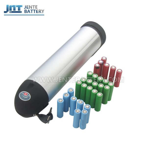 Batteria elettrica 24v batteria ricaricabile Batteria 15AH Batteria litio Li-ion per moto 350W 250W + caricabatterie 2A