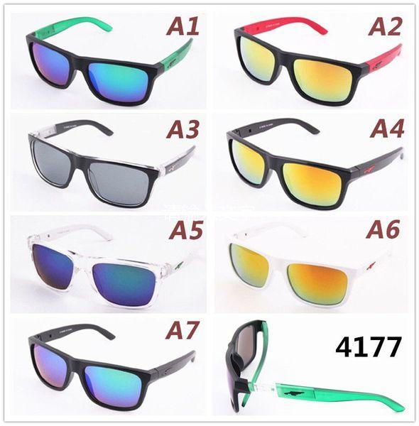 Высококачественный дизайн Новый Sunglass Мужчины стекла Женщина Спорт отражающее покрытие UV400 площади Солнцезащитные очки Оптовая Роскошные солнцезащитные очки