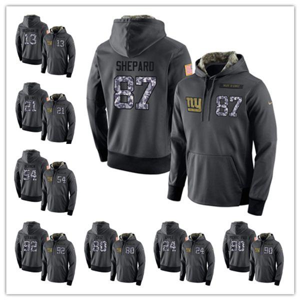 wholesale dealer 9f39a 5ab9d 2018 Mens New York Giants Hoodie 26 Saquon Barkley 13 Odell Beckham Jr 21  Landon Collins 10 Eli Manning Football Jerseys From Zhoudadaya, $32.17 | ...