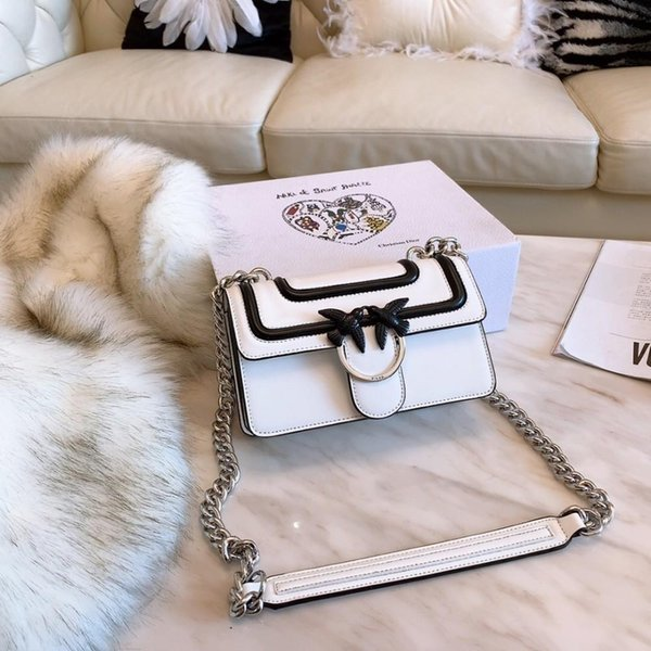 Women's shoulder bag high version swallow bag latest spring and summer show models super punctuality multi-layer practical slung