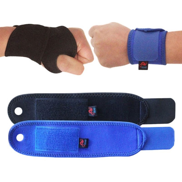 1 Pcs Outdoor Sports Wrist Guard Palm for Health Adjustable Wristbands Bandage Sport Safety Elbow Knee Pads Protector Tonsee #71085