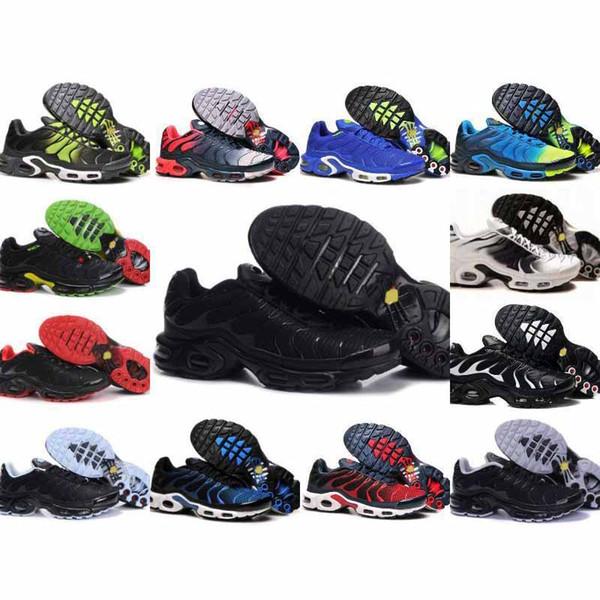 Trasporto veloce 2019 UOMINI di alta qualità Air TN Runnering ShOes CESTO DEL CESTINO REQUIN Mesh traspirante moda di lusso mens donne sandali del progettista scarpe