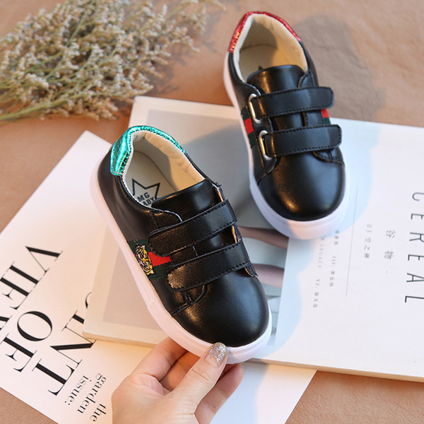 Christmas Comfortable running shoes Tiger Autumn Winter New Male girl Korean child Small white shoes Leisure student motion kids Sneakers