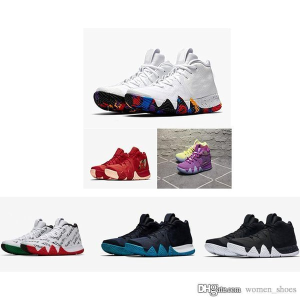 best sneakers 812ab 9aaf6 2018 Casual Kyrie Sneakers Men Shoe BHM Tie Dye City Guardians Debuts On  MLK Day Duke Official Black White 4s Sneakers With New Box Shoe Sale Shoes  Uk ...