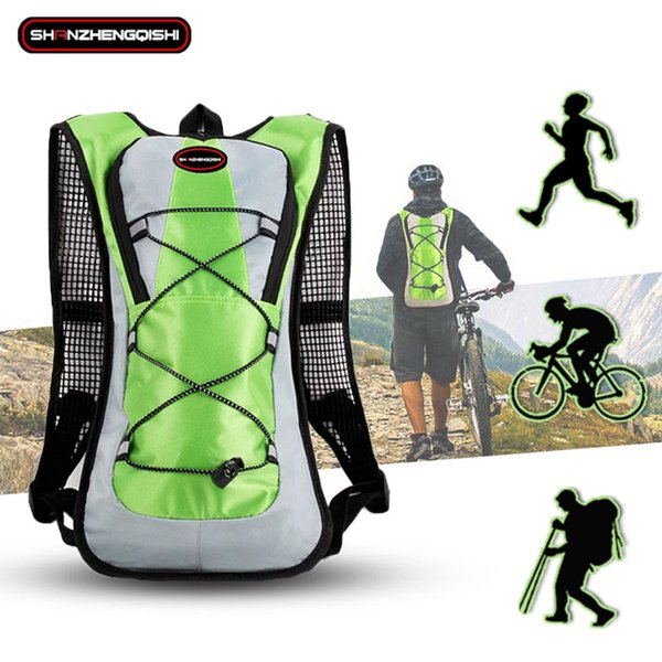 Outdoors Men Women Nylon Marathon Backpack Vest Fitness Hydration Trail Running Sports Accessories Cycling Hiking Running Bag