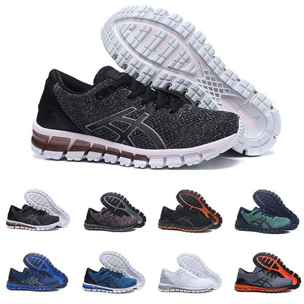 2019 ASICS GEL Quantum 360 SHIFT Estabilidad Zapatillas De Correr Transpirables Para Hombres Negro, Blanco Y Transpirable Para Hombre Zapatillas