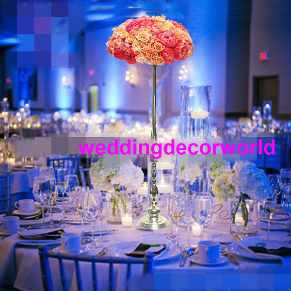 new style latest stage background large Geometric pillar flower stand wedding ornaments 1017