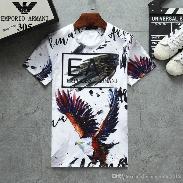 Men's brand-name clothing brand polo high quality T-shirt cotton student T-shirt summer men's clothing Rubik cube T-shirt color me