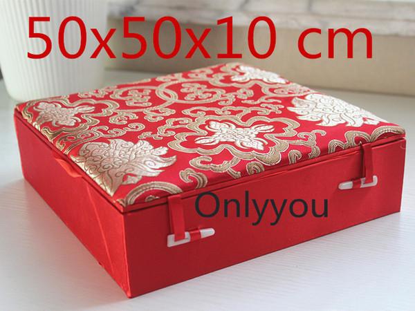 red 50x50x10cm
