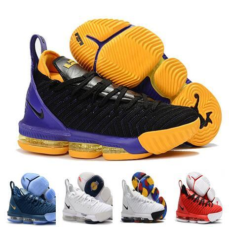 b327fdf8547 2019 MEN New colorways lebron 16 XVI king i promise outdoor shoes James 16  Outdoor Shoes