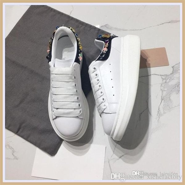 top Quality Chain Reaction Shoes Mens New Fashion luxurydesigner sneakers mens shoes Size 38-45 b01