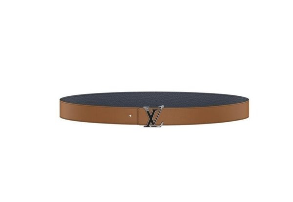 Khaki new leather inlaid semi-precious stones CREATE YOUR OWN MY BELT Men Authentic Reversible Belt New Official Men Belt With Box