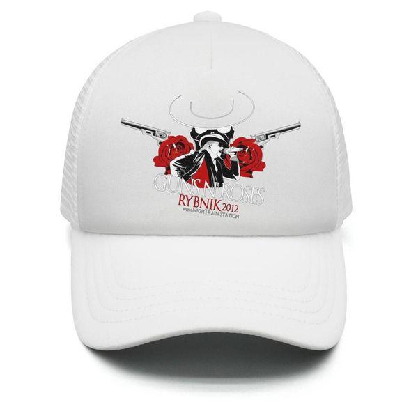Çocuklar Erkek Kız Unisex Ayarlanabilir Beyzbol Şapkası Guns-Açık-N-Baba-Güller logo Güneş Şapka Mesh Breatheable Geri