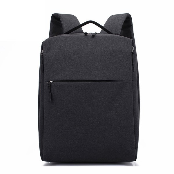 Mens Fashion Book Bags For School For 14 Inch Laptop Notebook Backpacks Waterproof Oxford Cloth Casual Large Capacity Knapsack