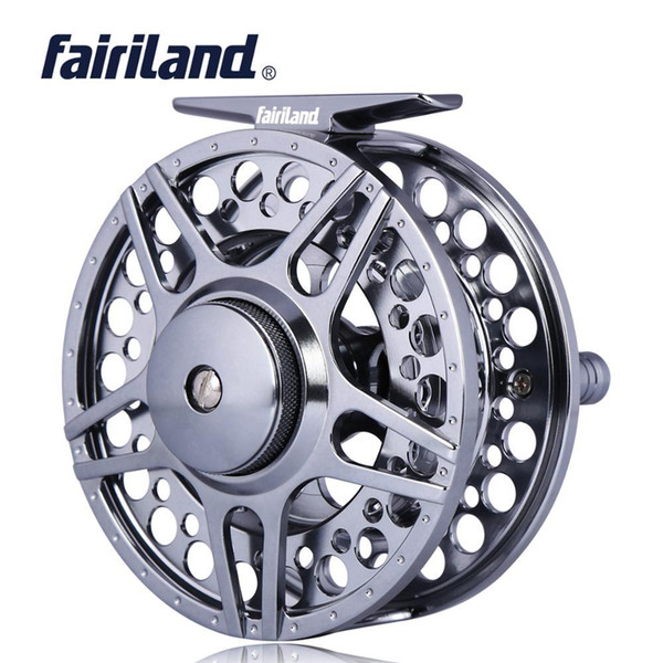1/2 3/4 5/6 7/8 3bb fly fishing reel cnc machined aluminum fly reel w/ incoming click l/r hand-changed thumbnail