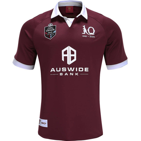 best selling 2020 QUEENSLAND MAROONS STATE OF ORIGIN JERSEY QLD MAROONS 2020 RUGBY JERSEY 2019 QLD MAROONS INDIGENOUS rugby Jersey size S-5XL (can print)