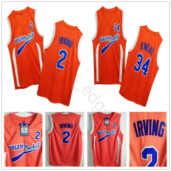 drawing shirts Promo Codes - Uncle Drew Costume  2 Kyrie Irving Jersey  Harlem Buckets Movie 17b5b7e49