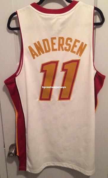 Дешевые оптовые Крис Андерсен 2013 Чемпионов Джерси сшитые объявление №11 BirdMan футболка жилет сшитые баскетбольные майки Ncaa