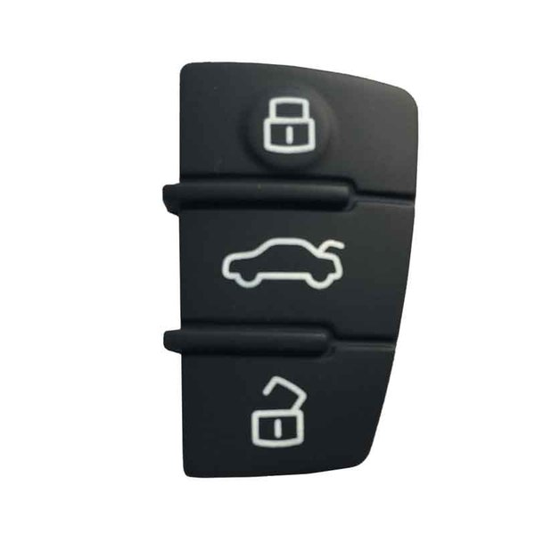 Buttons Replacement Remote Key Fob Pad Replacement Case For A3 A4 A6L Rubber Car Key Mat