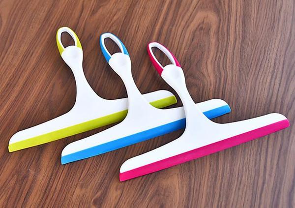 Yıkama Fırçası Cam Pencere Silecek Sabun Temizleyici Çekçek Duş Banyo Aynası kat Araba Bıçak Fırça DHL Ücretsiz