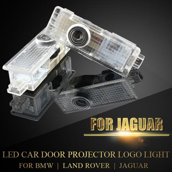 Luz LED de cortesía para la puerta con el logotipo del auto para Jaguar F-type BMW MINI Land Rover Proyector inalámbrico Laser Ghost Shadow Lamp PlugPlay