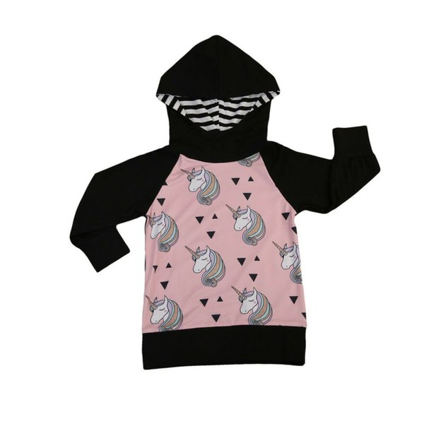 Toddler Baby Kids Girls Boy Hoodies Sweatshirt Jumper Coat Jacket Tops Pullover