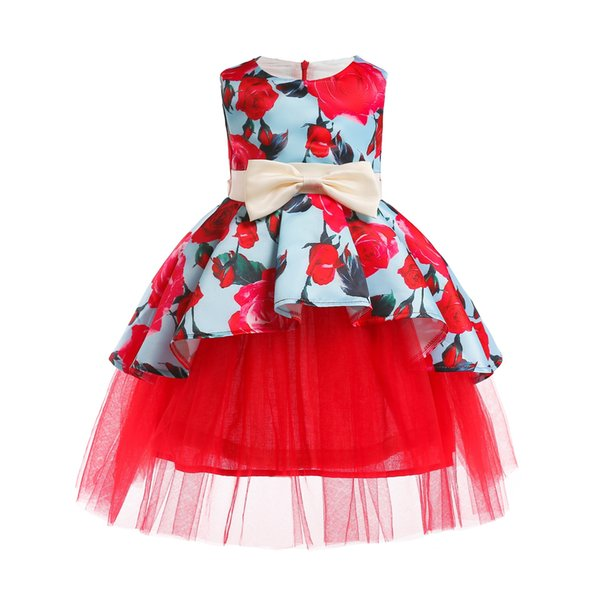 Baby Tutu Princess Dress for Girl wedding Flower Birthday Party Girl Dress Baby Girl's Christmas Clothes children's costumes kids clothing