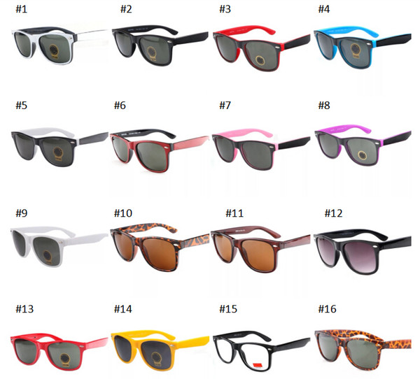 UV400 Verano Hombres Playa Gafas de sol Ciclismo Gafas Mujer Bicicleta Conducción Sunglasse 16 colores