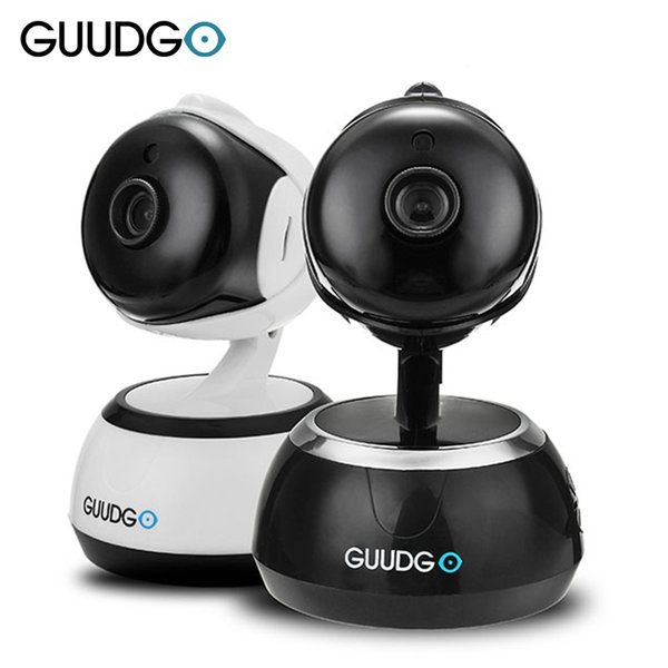 GUUDGO GD-SC02 720P Wireless Security Camcorder Camera Pan&Tilt IR-Cut Night Vision Two-way Audio Cloud Service IOS Android