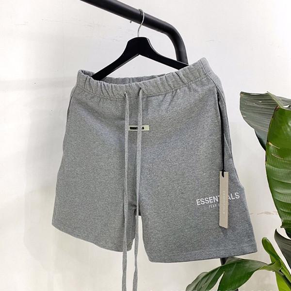 Cinza Shorts