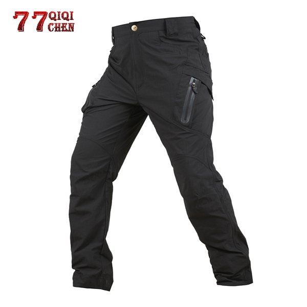 verschiedene Stile 100% original feinste Stoffe Großhandel QIQICHEN IX9 Wasserdichte Tactical Cargo Pants Men Combat SWAT  Armee Hosen Viele Taschen Atmungsaktiv Mann Casual Hosen Von Yolkice,  $98.96 ...