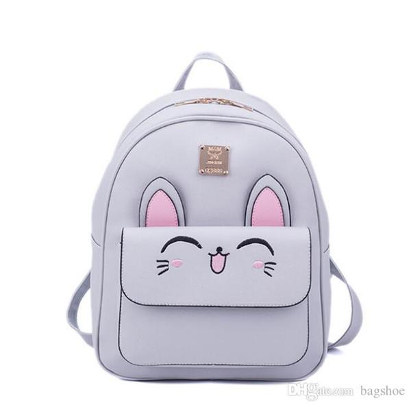 Mini bag new fashion backpack female bag wild travel female backpack tide Bag shapes: square vertical section