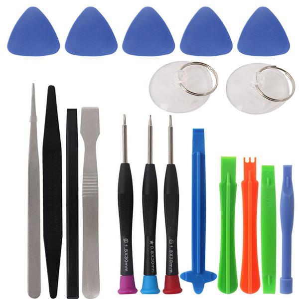 20 in 1 Mobile Phone Repair Tools Set Kit Pry Opening Tool Screwdriver for iPhone iPad Samsung Cellphone Hand Repair Tools Set 45