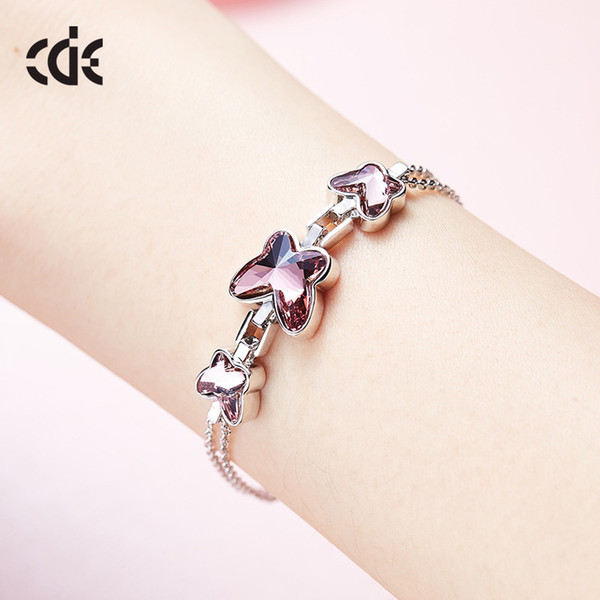 Wedding Party beaded pearl gift woman lady diamond jewelry Bracelets for bride acting initiation graduation CDE-1349
