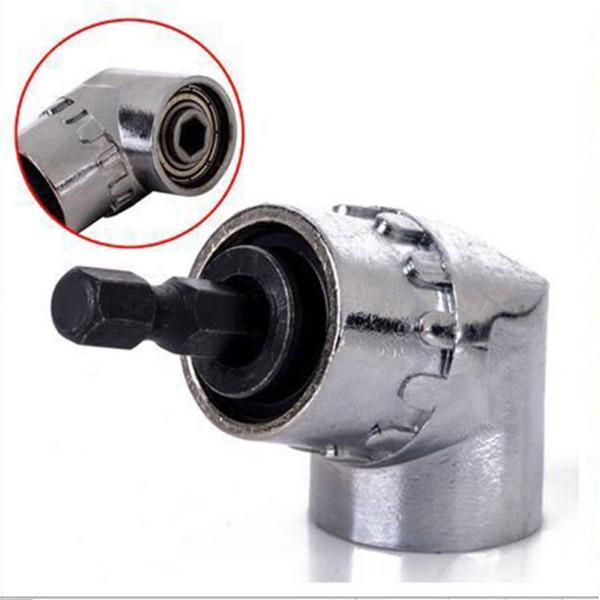 105 degrés réversible dur durable en alliage d'angle Mèche Adaptateur Power Tools Accueil Connexion pratique Holder tournevis Rod